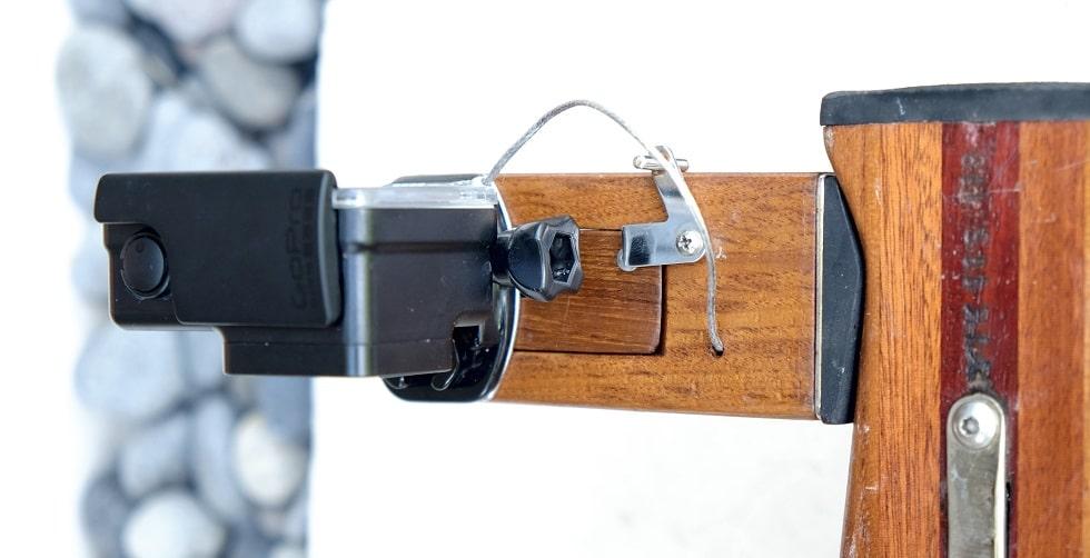 Support caméra avec GoPro - Monté sur IKAN