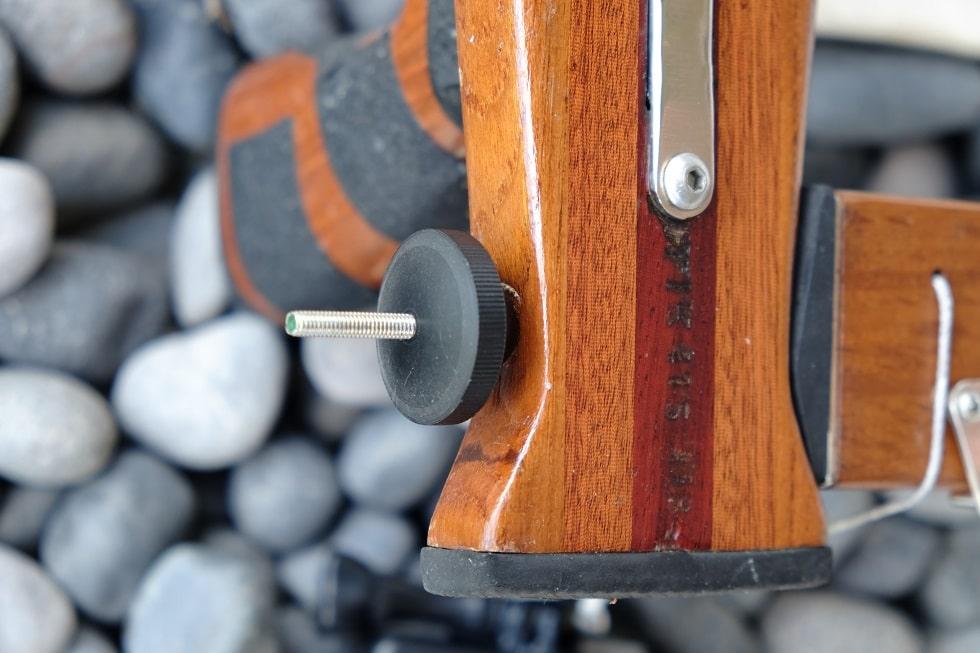Support caméra - Système de serrage